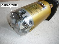How to replace a pool pump capacitor for Electric motor capacitor replacement