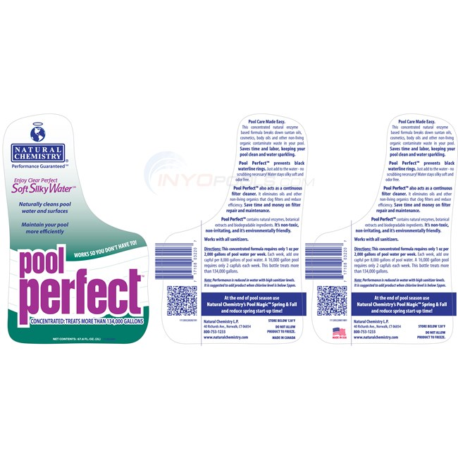 Natural Chemistry Pool Perfect 2 Liter - each - 03220