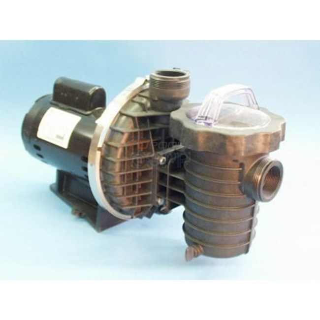 "Pump, 2HP, 230V, 2Sp, 2""MBT In/Out, W/ Trap Assy - 14120500"