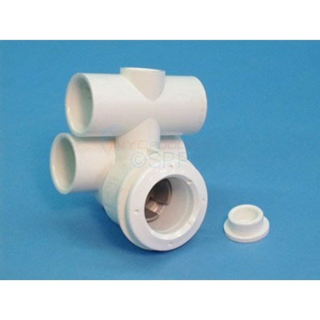 "Jet Body, 1""S Air X 1""S Water Tee Discontinued - 222-0040"