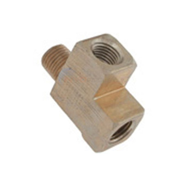 "Sta-Rite Tee, Mptxfptxfpt 1/4"" Brass (06127-04)"
