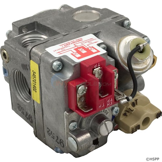 Pentair Gas Valve, 100 Mv, Nat. (471192)