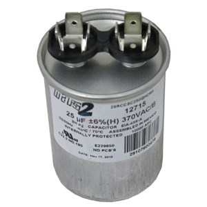 ao smith replacement capacitor 25mfd 370v 628318 307