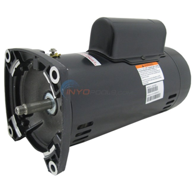 A.O. Smith Century 2.0 HP Square Flange 48Y Dual Speed Up Rate Motor - UQS1202R