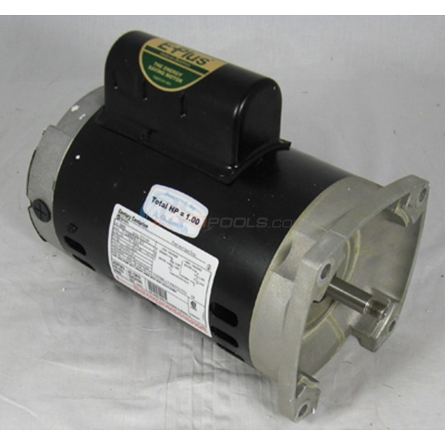 A.O. Smith Century 1/2 HP Square Flange 56Y Full Rate EE Motor - B2845