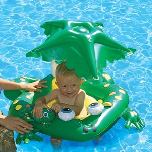 Poolmaster Frog Baby Seat W Shade Top Pom81555 Inyopools Com