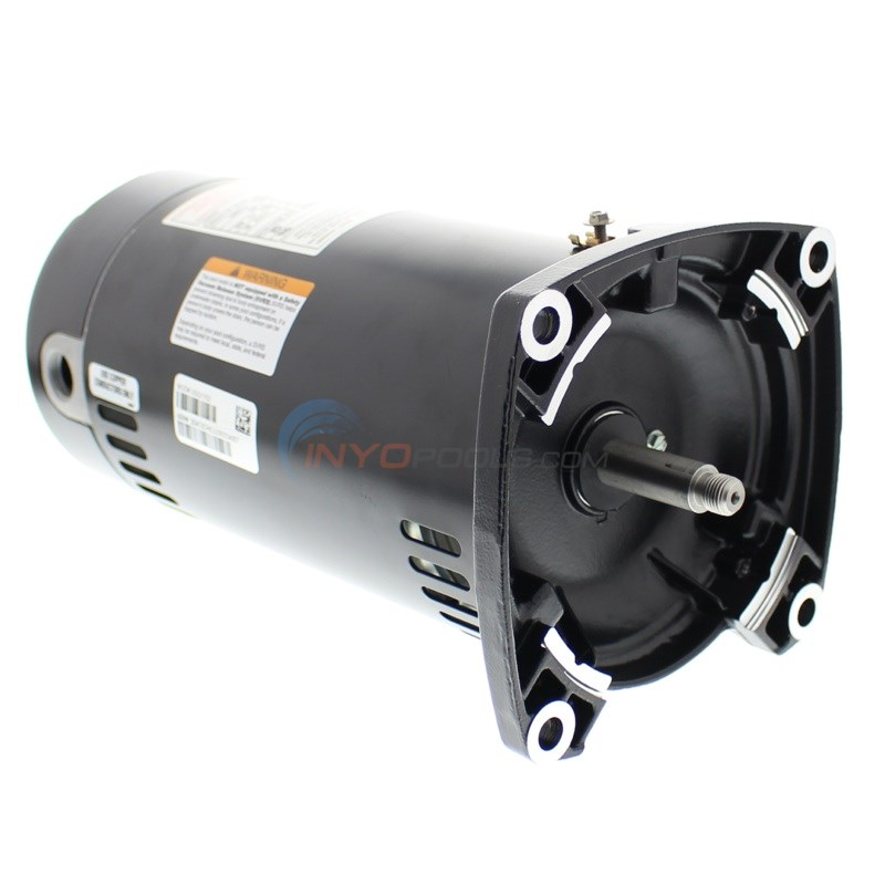 A.O. Smith 1 H.P Square Flange Up Rate Motor (USQ1102)