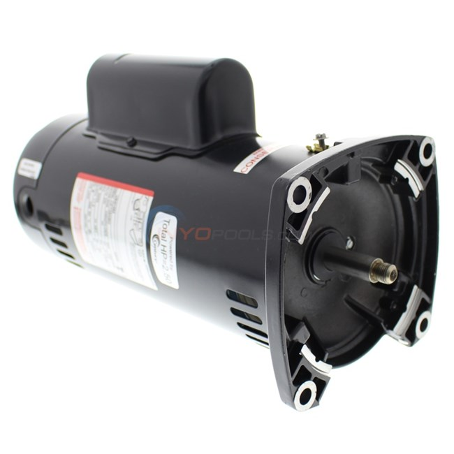 A O Smith 2 5 Hp Square Flange 48y Up Rate Motor