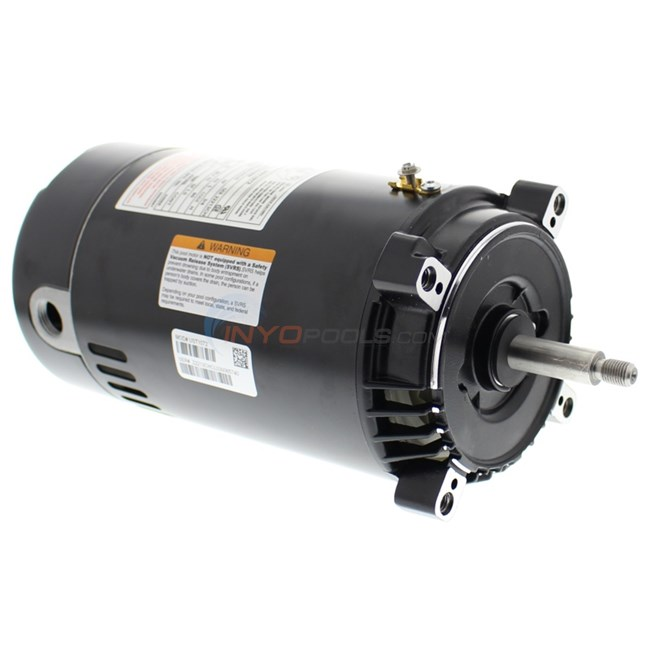A O Smith Round Flange 3 4 Hp Up Rate Motor Ust1072