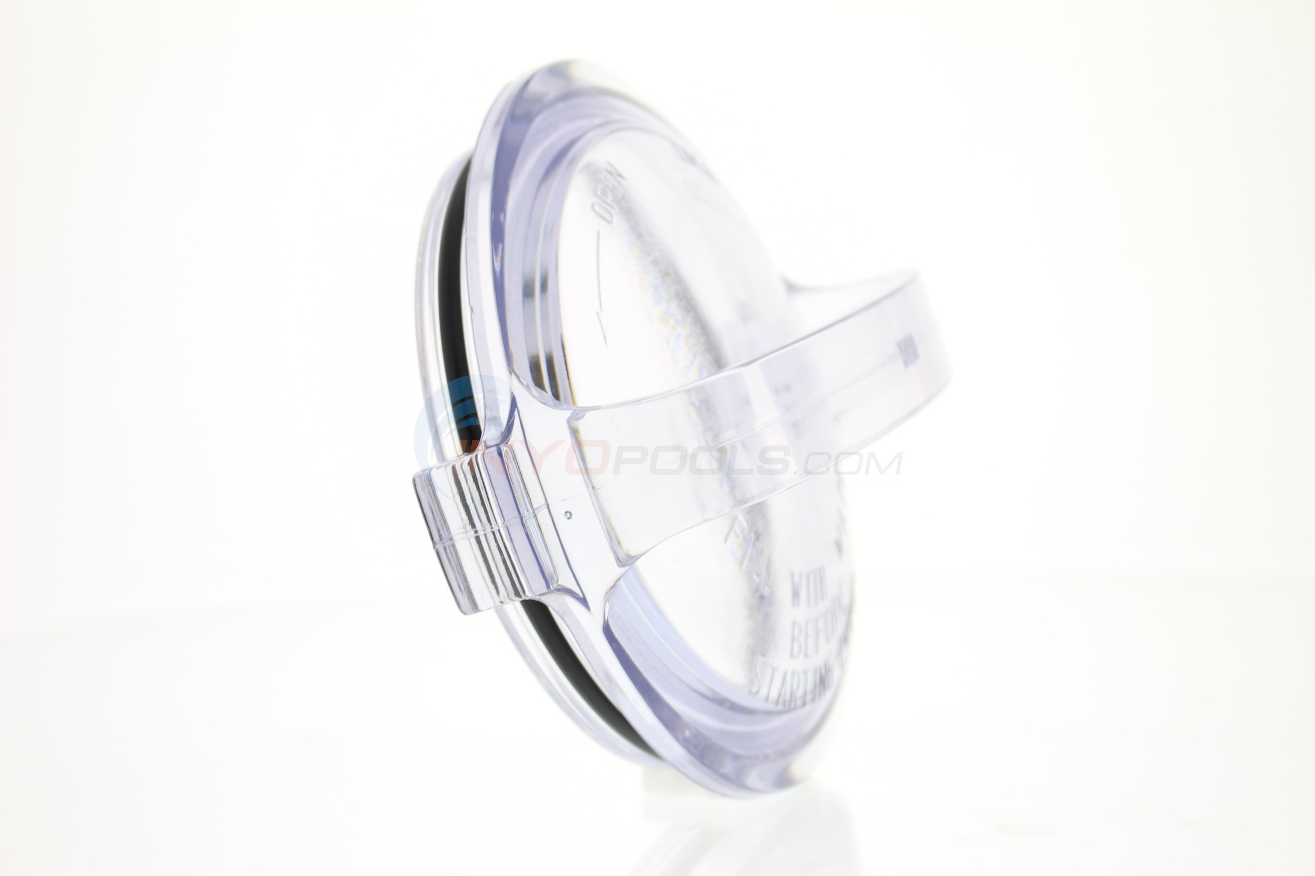 Custom Molded Products Generic - Cover, Strainer, Clear Lexan With O-ring (spx1500d2a) - SPX1500D2A-GENERIC - Alternate 3
