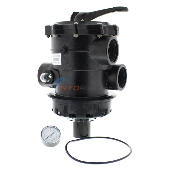 """Custom Molded Products Top Mount Valve for Hayward & Jacuzzi 2"""" Sand Filters - TM-22-H8"""