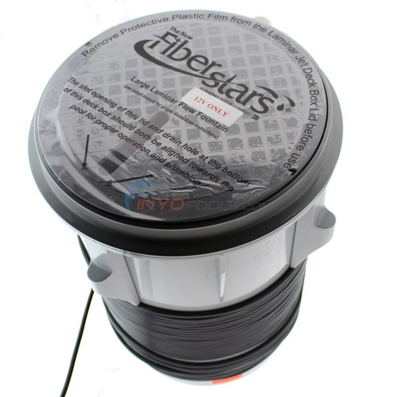 Fiberstars Light Streams Large Laminar - Includes Deck Box and LED Light Driver - COLOR Changing - CLSLL - Alternate 3