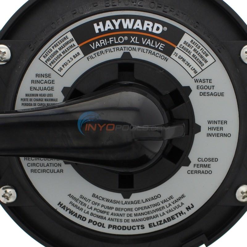 Hayward Sp0714t Pro Series Vari Flo Top Mount Sand Filter