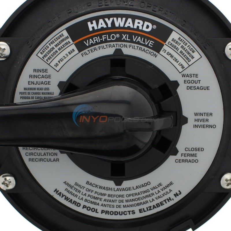 Hayward Top Mount Valve for Sand 1.5
