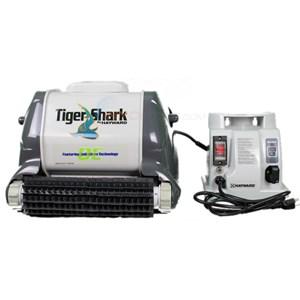 aquavac tigershark qc pool cleaner 55 39 cord 9990gr. Black Bedroom Furniture Sets. Home Design Ideas