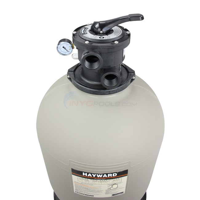 "Hayward Sand Filter W/Top Mount Valve 20"" Tank - W3S210T"