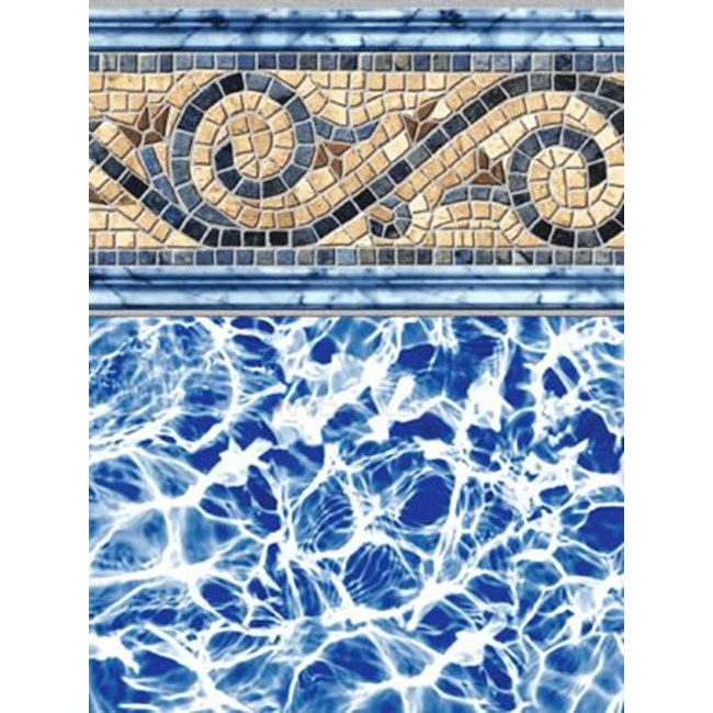 18 x 36 Rect. Inground Pool Liner - 20 MIL Siesta Wave - NLGCCAM1836-20MIL