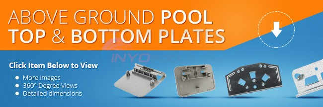 Above Ground Pool Top And Bottom Plates Parts Inyopools Com
