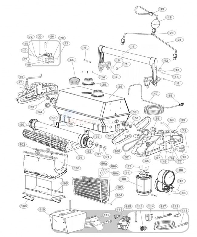 Aqua Products Aquamax Biturbo Parts Inyopools Com