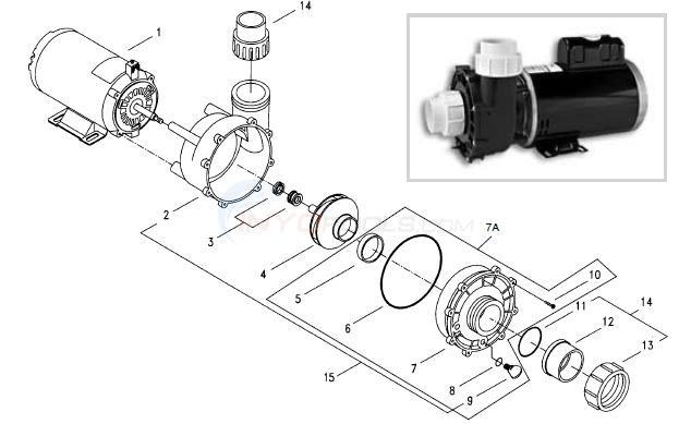 Aqua Flo Xp2e Parts Inyopools Com