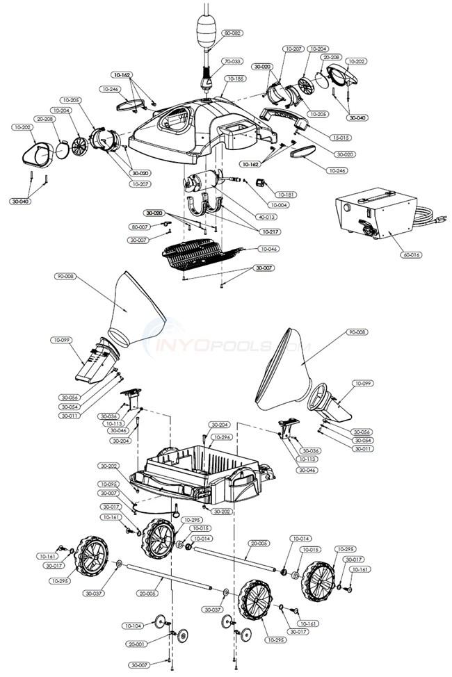 Pool Rover S2 40i Parts Inyopools Com