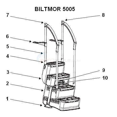 Innovaplas Biltmor 5005 Step Parts Inyopools Com