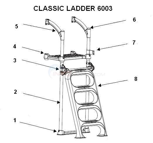 Innovaplas Classic Ladder 6003 Parts Inyopools Com