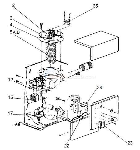 Islander Electric Heater Parts Inyopools Com