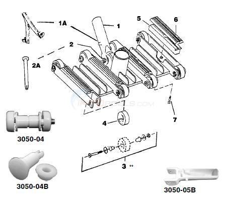 Flex Vac Heads Parts Inyopools Com