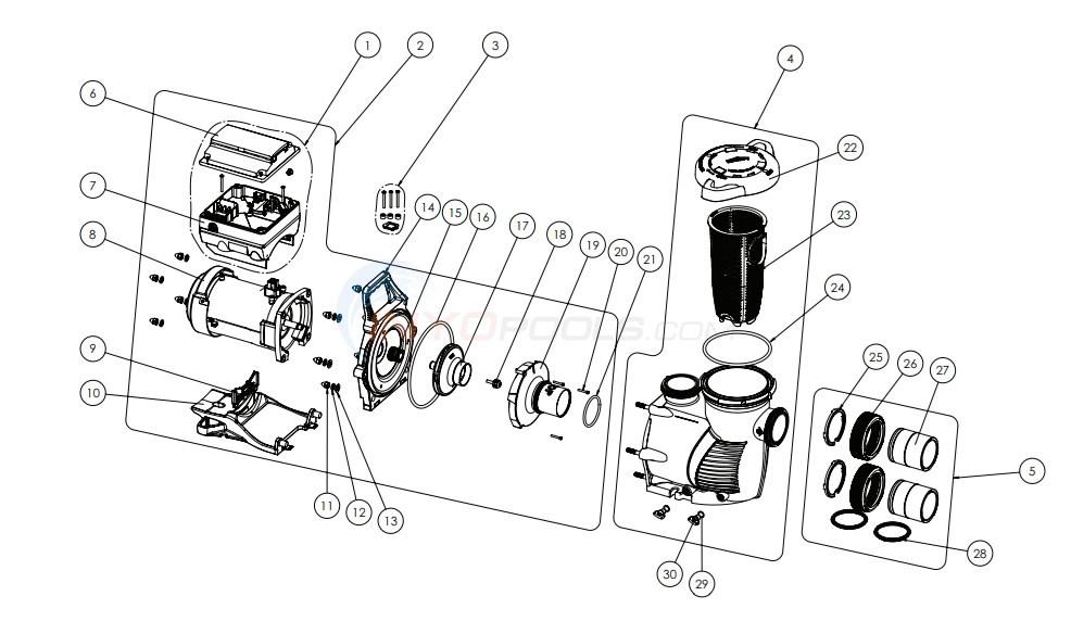 Pentair IntelliFloXF Variable Speed Pump (August 2015