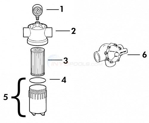 Jandy Energy Filter Parts Diagram