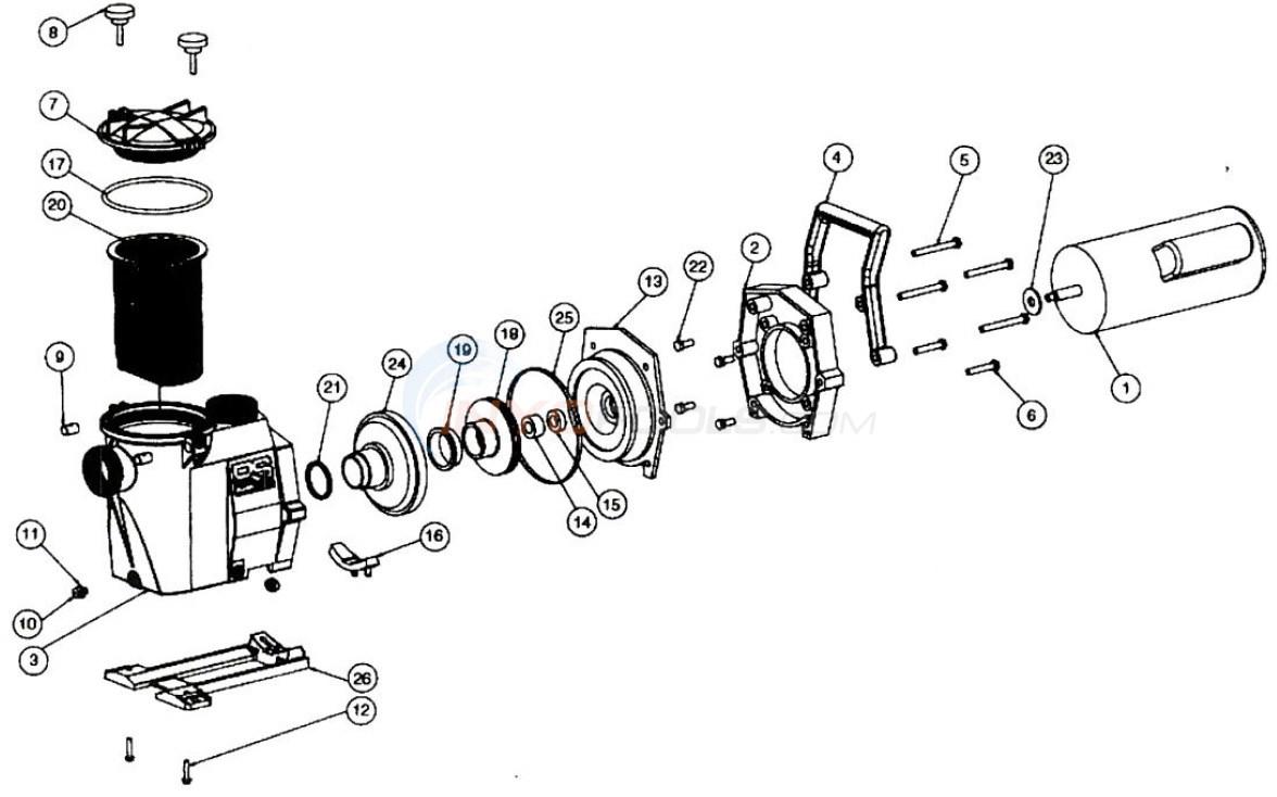 Hayward RS Series Parts - INYOPools.com