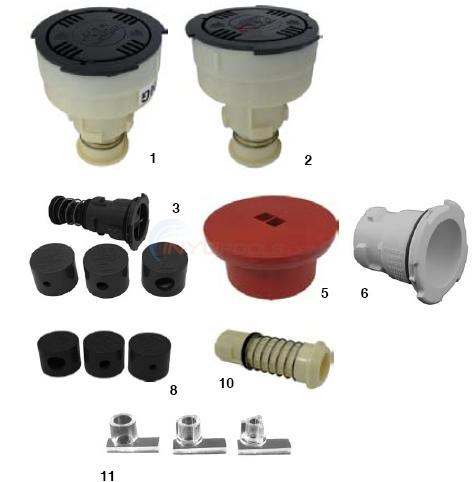 Paramount Pcc2000 Nozzles And Accessories Parts