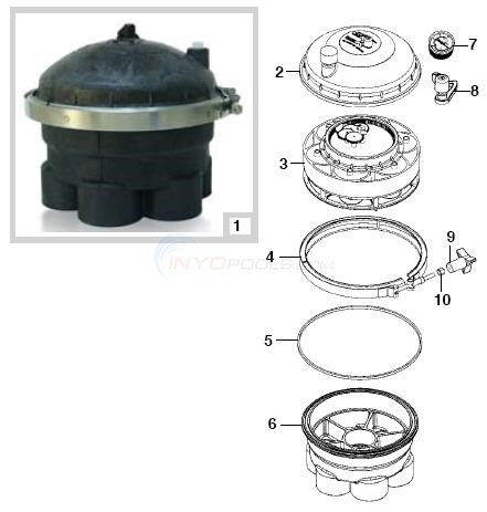 Paramount Water Valves Parts Inyopools Com