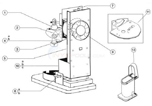 Super Vision Illuminator Sv150t 6 Parts Inyopools Com