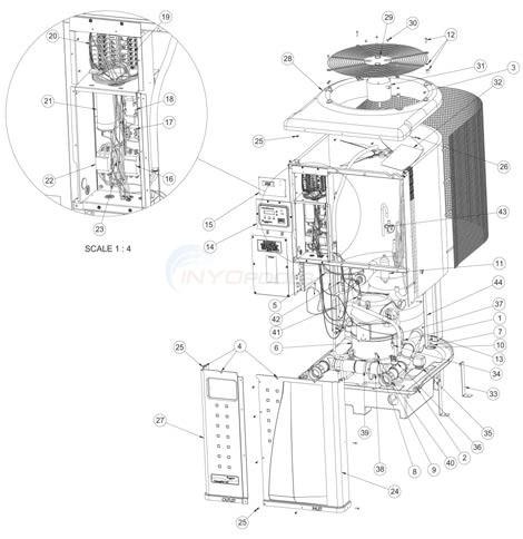 Thermoflo Heat Pump Titanium Parts Inyopools Com