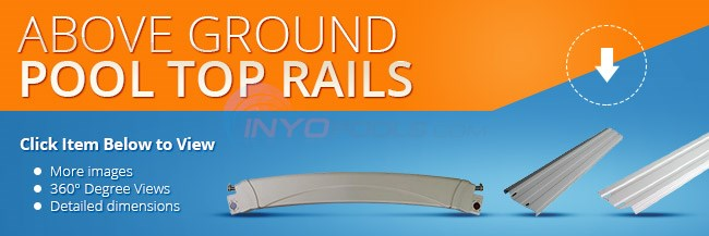 Above Ground Pool Top Rails Parts