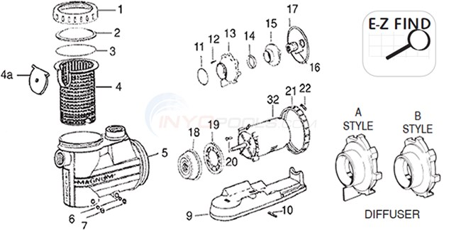 Jacuzzi High Flow Hydraulic Parts Inyopools Com