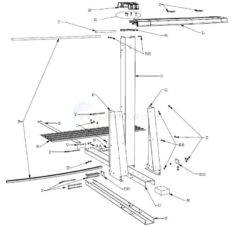 Celebration 12'x24' Yardmore Oval (Resin Top Rail, Steel