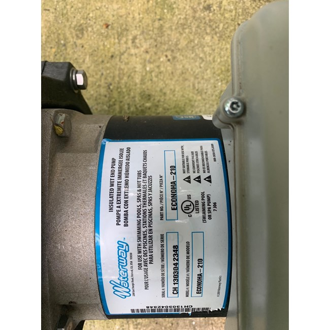 A.O. Smith V-Green 1.65 HP Square Flange 48Y Variable Speed Motor - ECM16SQU