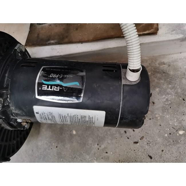 Magnetek A O Smith 1 Hp Square Flange 56y Up Rate Motor