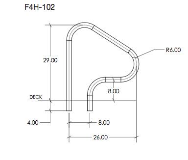 F4H102 Figure 4 Handrail